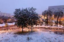 Snowing in Barcelona 2013-02-23(#3674)